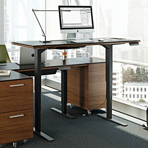 Height Adjustable Standing Desks Youll Love Wayfair
