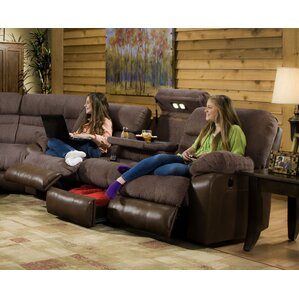 Annable Reclining Sectional  sc 1 st  Wayfair : theatre sectional sofas - Sectionals, Sofas & Couches