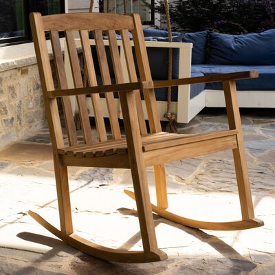 Wood Patio Rocking Chairs Amp Gliders You Ll Love In 2019