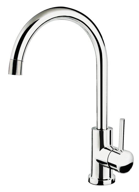 Single Handle Single Hole Gooseneck Kitchen Faucet Nice Look