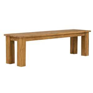 Sitzbank Caracas aus Holz von Massivum