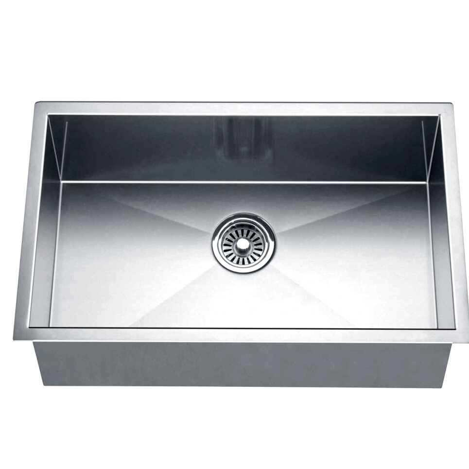exporter sink single bowl kitchen ss
