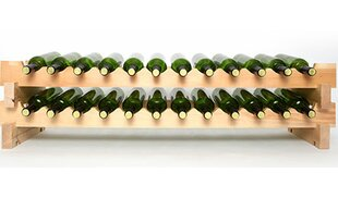 24 Bottle Wall Wine Rack