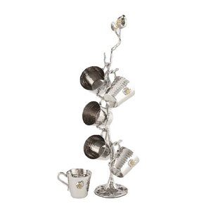 Tervy Pomegranate Cup Tree Set (Set of 6)