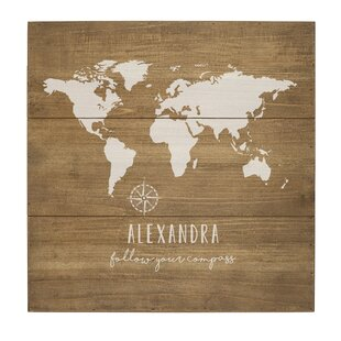 Wooden World Map Wall Art Wayfair