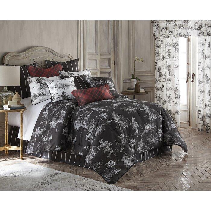 August Grove Bergenfield Cotton Comforter Set Wayfair Ca