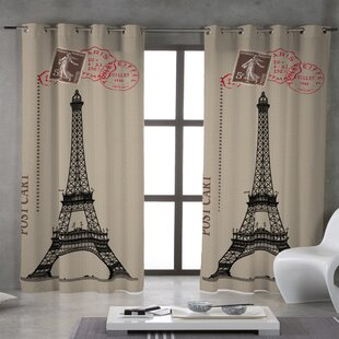 Paris Curtains For Bedroom | Wayfair