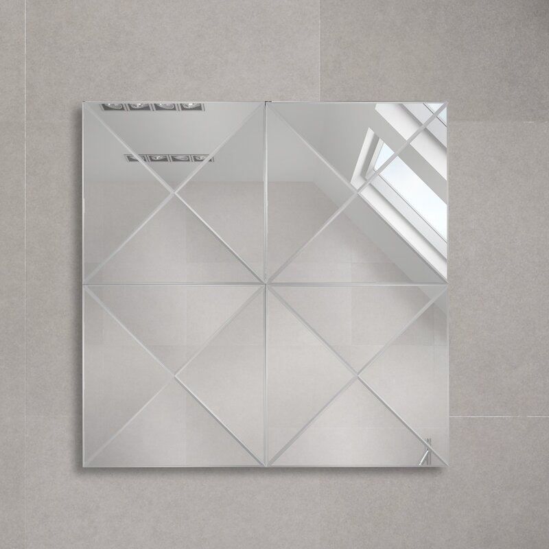 Triangle Style Two Wall Mirror
