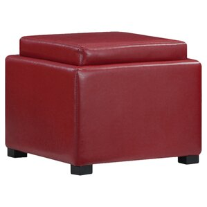 Bateman Ottoman by Red Bar..