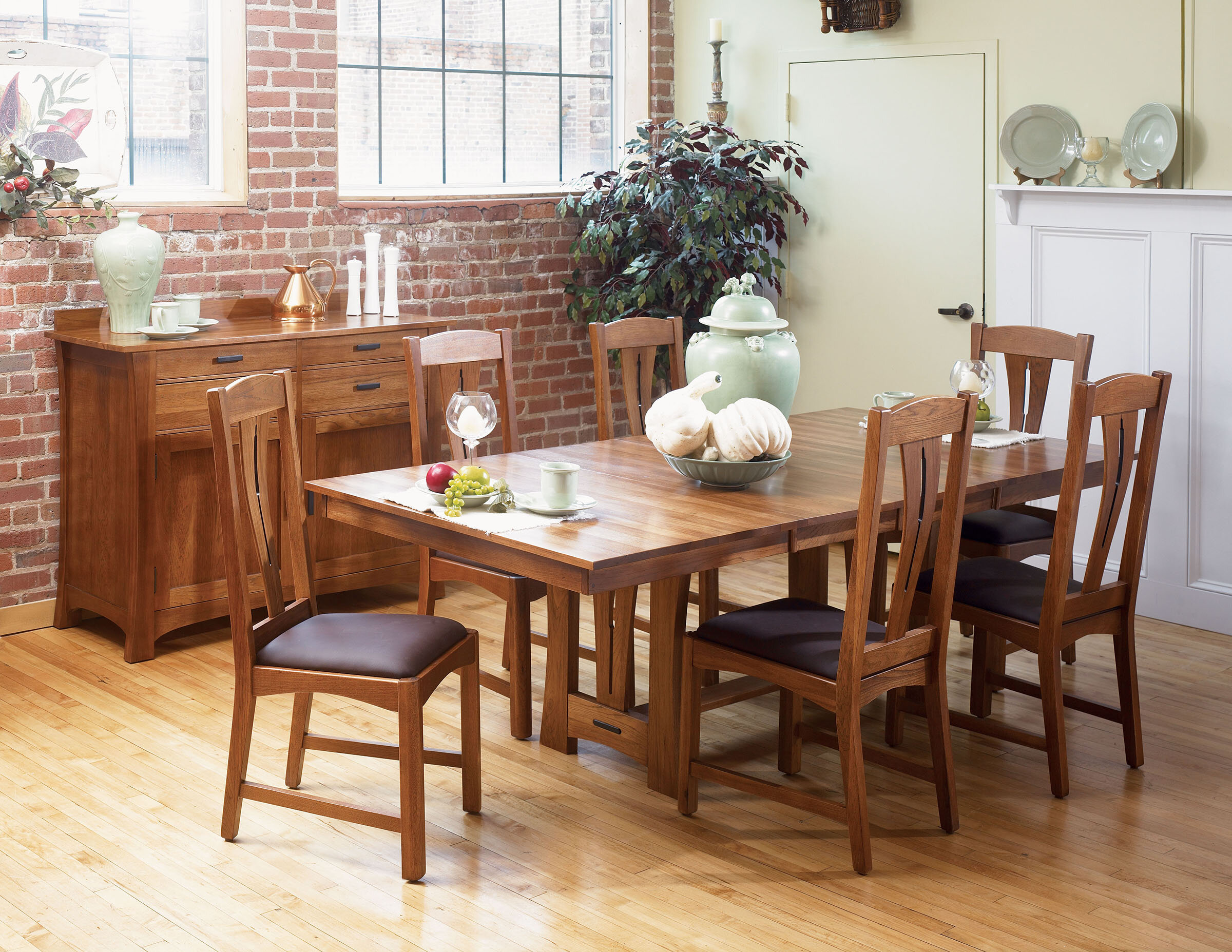 Loon Peak Lewistown Extendable Solid Wood Dining Table & Reviews ...