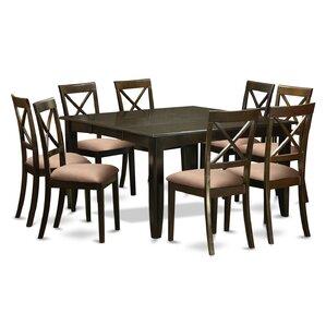 Parfait 9 Piece Dining Set by East West Furniture