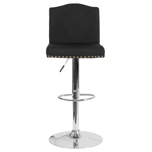 Itzayana Adjustable Height Swivel Bar Stool
