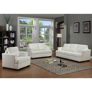 white living room furniture sets. Cecilia 3 Piece Living Room Set White Sets You ll Love  Wayfair