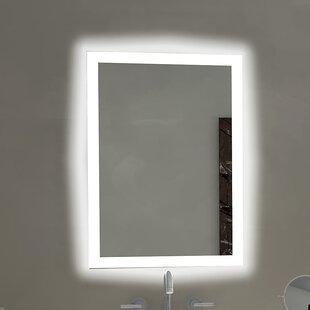 Beau Rectangle Backlit Bathroom / Vanity Wall Mirror