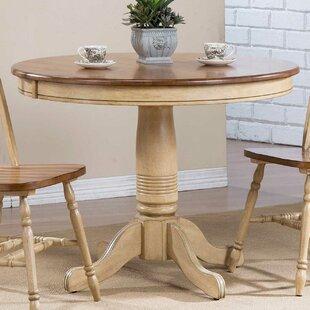 save to idea board 42 inch round dining table   wayfair  rh   wayfair com