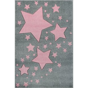 Starline Grey/Pink Rug by Livone