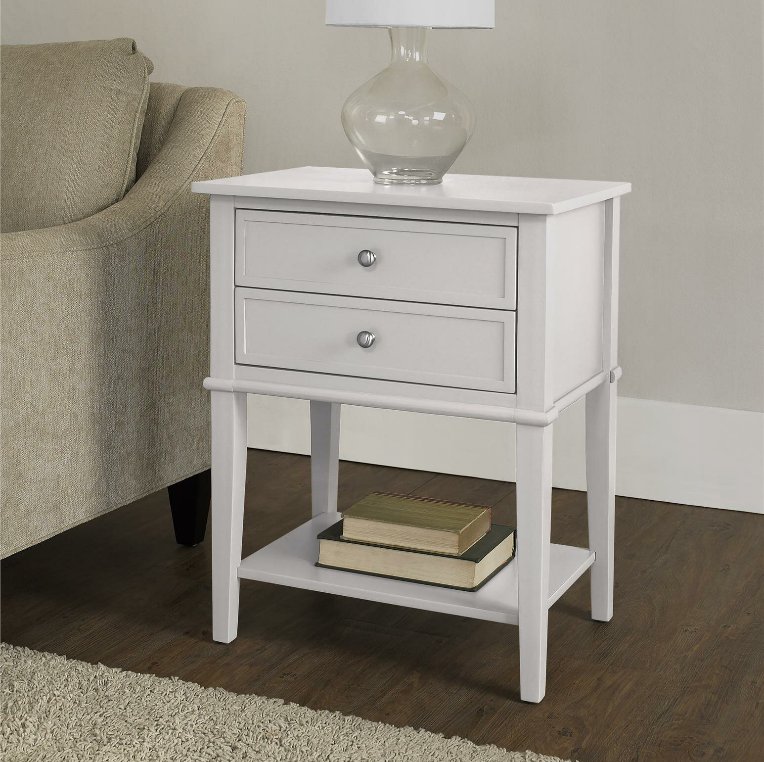 Genial Beachcrest Home Dmitry End Table With Storage U0026 Reviews | Wayfair