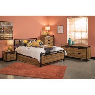 Golding Queen Panel 4 Piece Bedroom Set