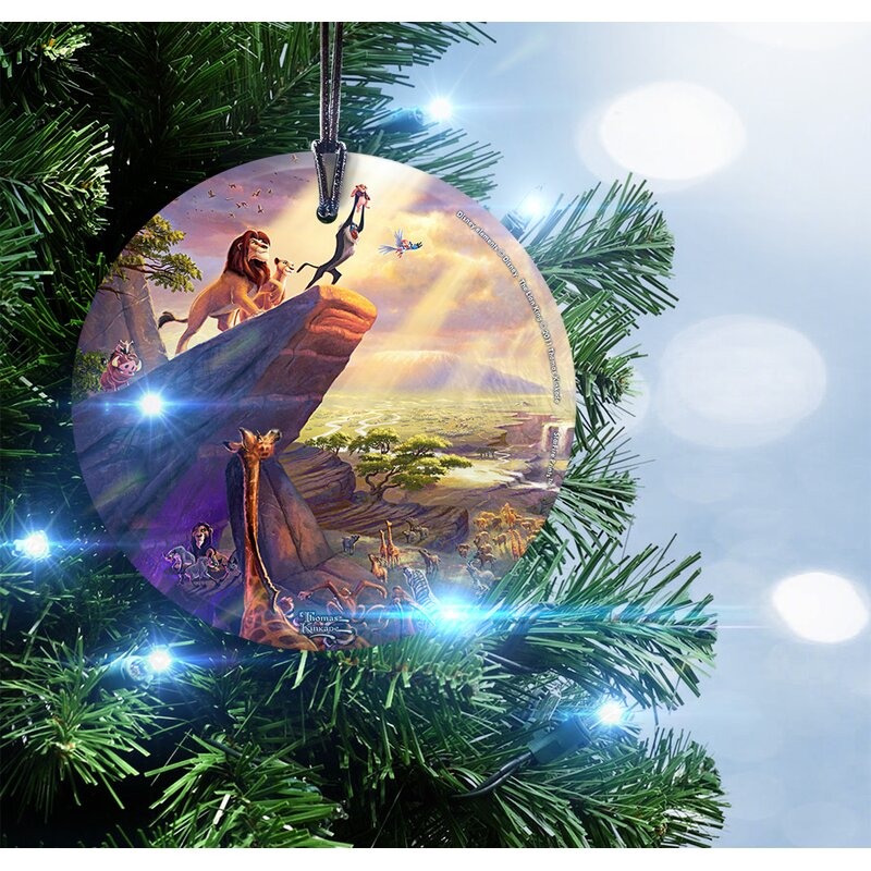 Disney The Lion King Hanging Shaped Ornament