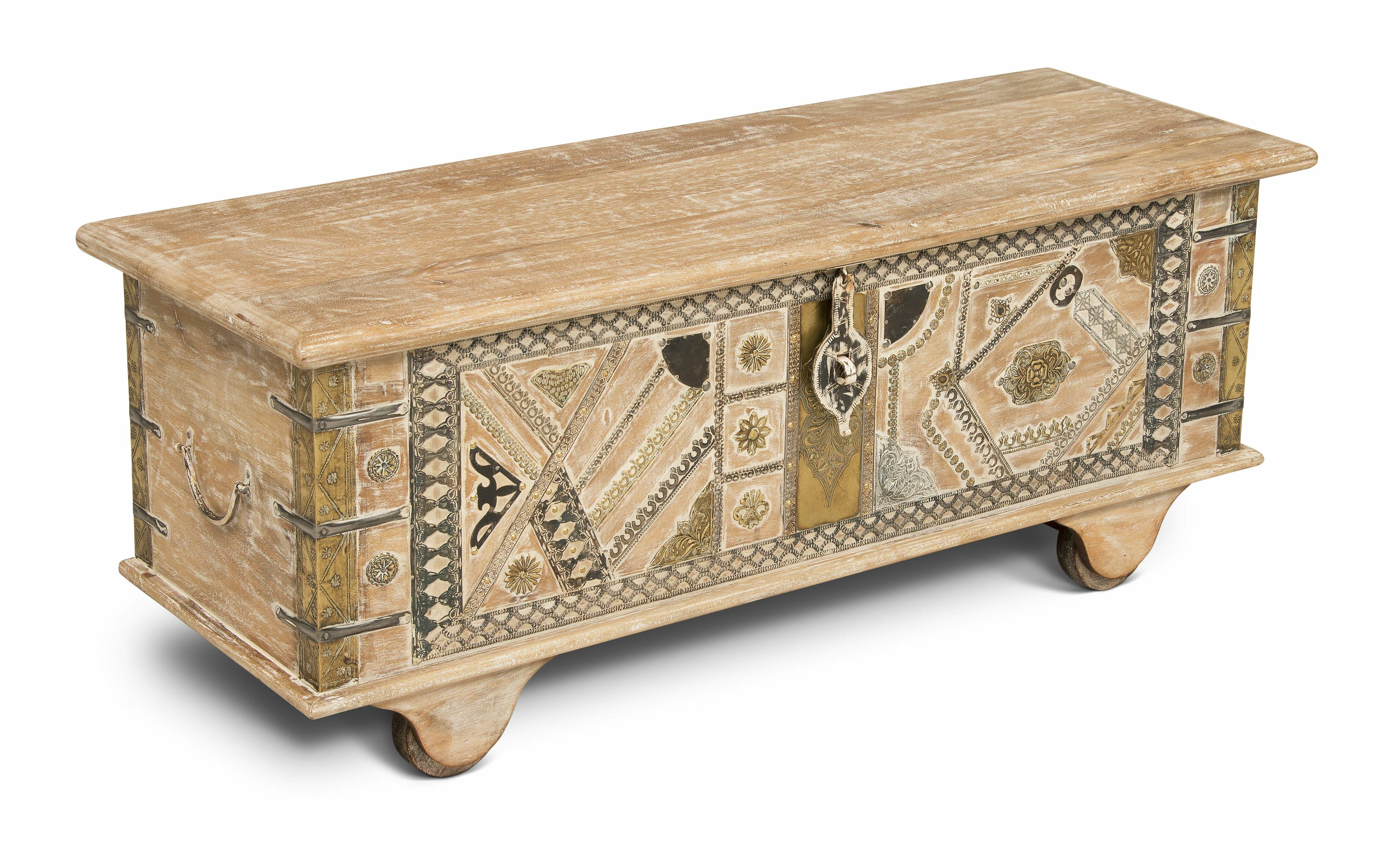 Incroyable Trunk Chest Coffee Table | Wayfair