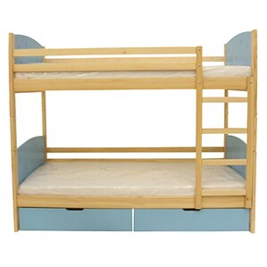 Cori Bunk Toddler Bed by Harriet Bee