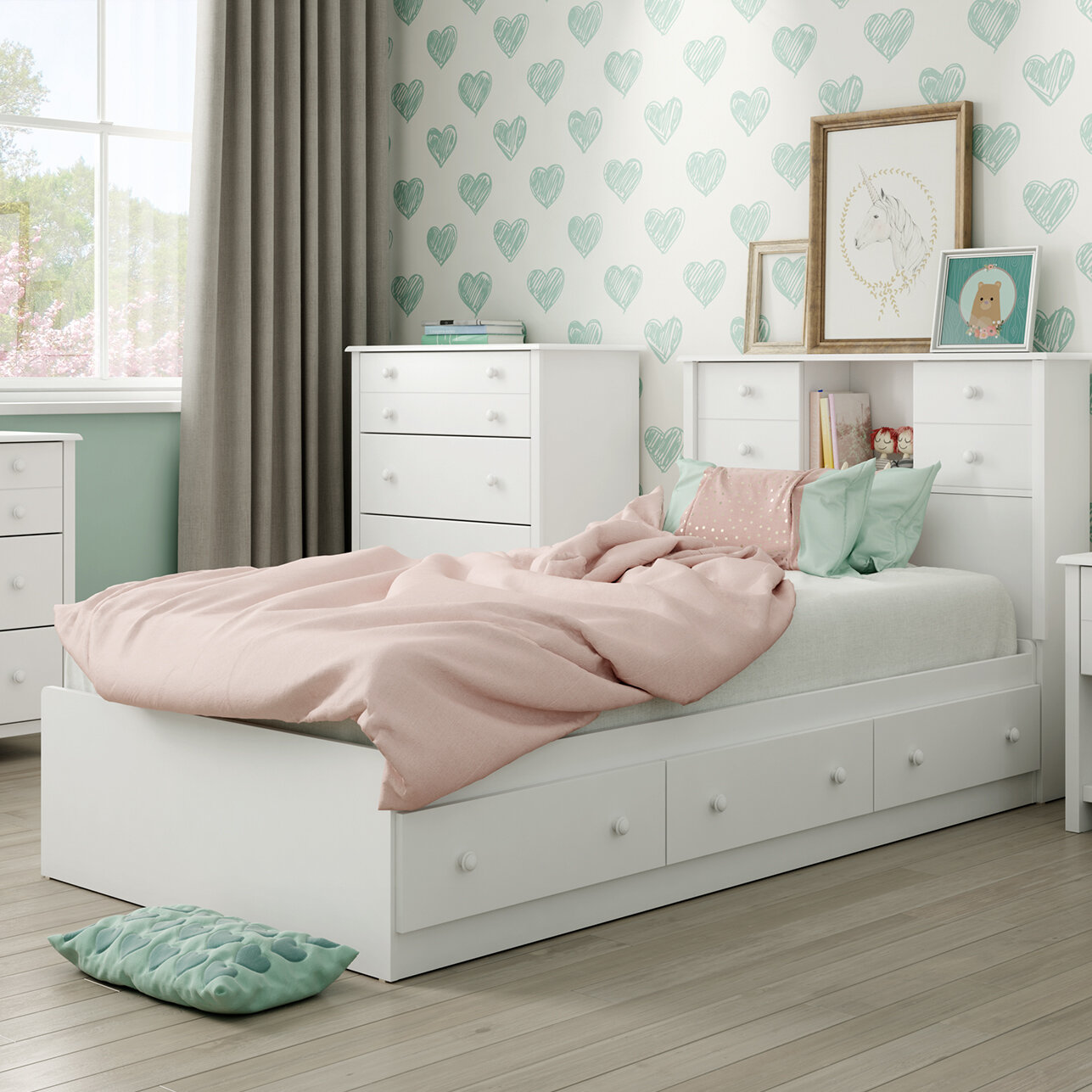 South Shore Little Smileys Twin Mate S Amp Captain S Bed