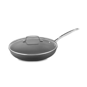 12″ Non-Stick Skillet with Lid