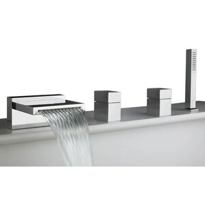 Black Bathtub Faucets You\'ll Love | Wayfair
