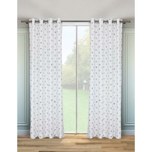 Lyngdal All the Love Geometric Blackout Thermal Grommet Curtain Panels (Set of 2)