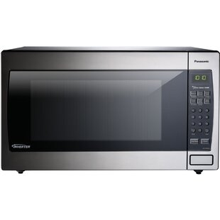 Genius Sensor 23 9 2 Cu Ft Countertop Built In Microwave With Inverter Technology