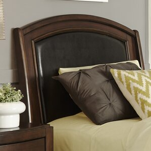 Loveryk Leather Upholstered Panel Headboard by Darby Home Co