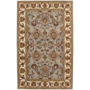 Guilded Hand-Tufted Smoke Area Rug