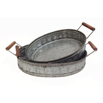 Wooden Tray With Handles Wayfair