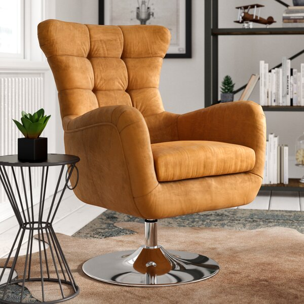 Round Swivel Chair | Wayfair.co.uk