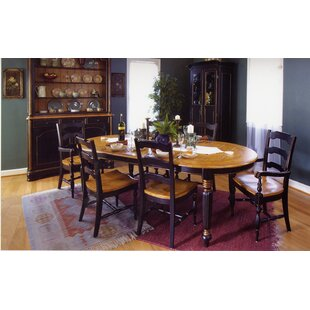 Spinelli Plank Top Solid Wood Dining Table