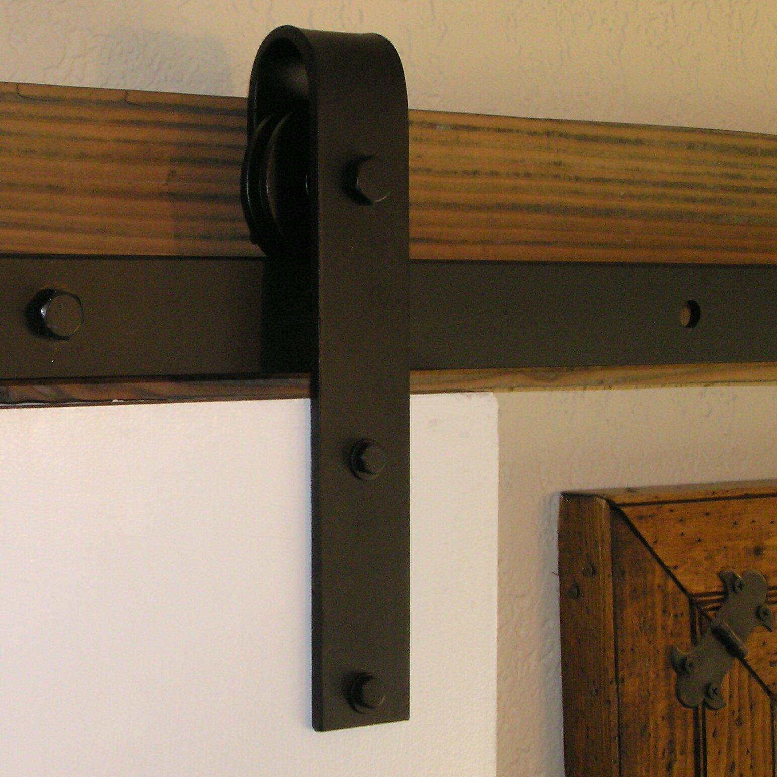 Agave ironworks barn door rolling hardware kit reviews for Barn doors and hardware reviews