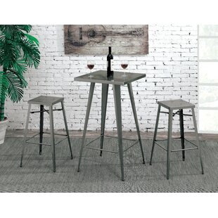 Grosetto 3 Piece Pub Table Set