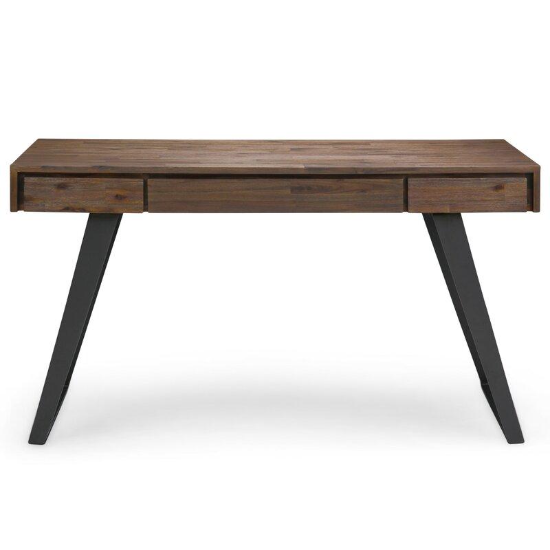 Strange Elle Solid Wood Desk Download Free Architecture Designs Scobabritishbridgeorg