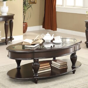 Edenfield Coffee Table with Magazine Rack by Darby Home Co