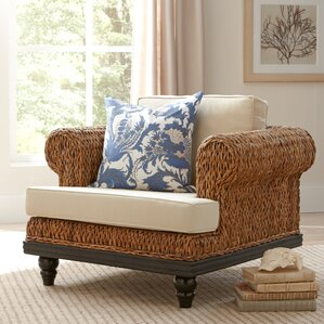 Esmont Woven Chair and a half by Birch Lane?