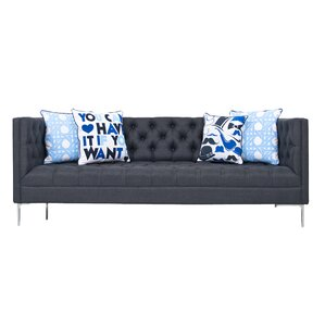 Heathered Chesterfield Sofa by ModShop