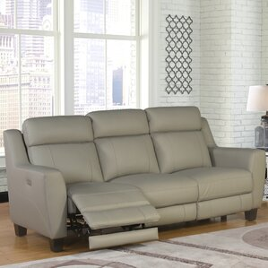 Florham Leather 2 Piece Living Room Set by L..