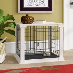 aries pet crate end table - Dog Crate Side Tables