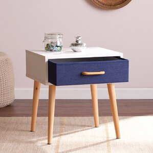 Nash End Table With Storage by Langley Street