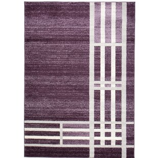 Barite Dark Lilac Area Rug by Home & Haus