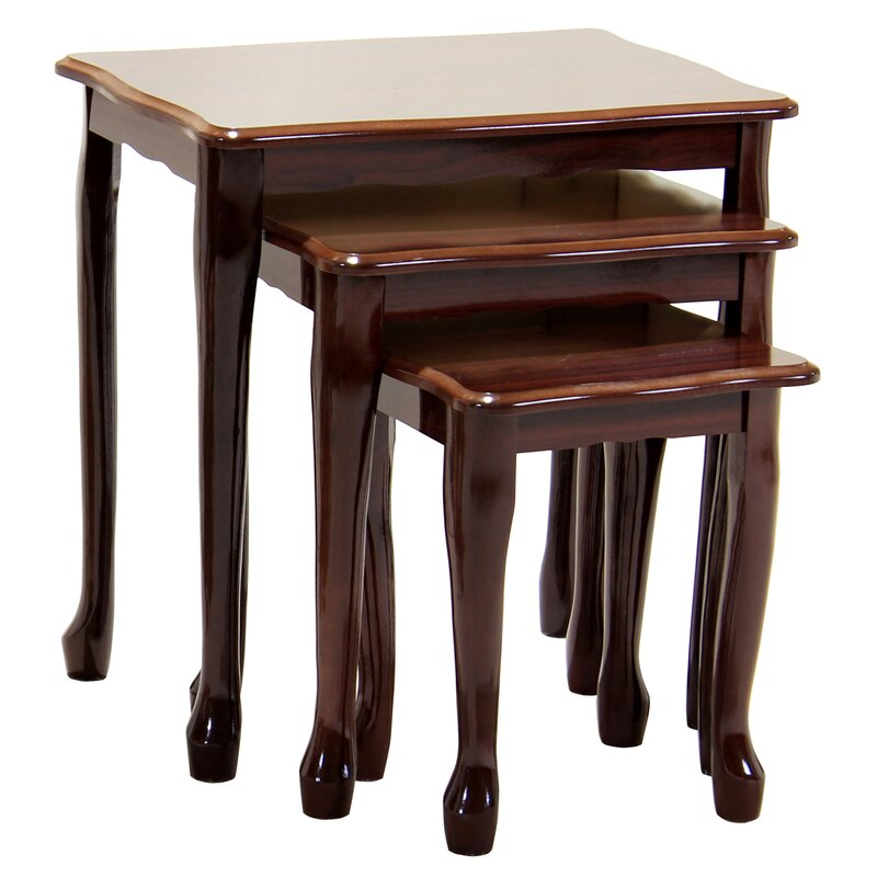 Andover mills netta 3 piece nest of tables reviews for Small nest of tables