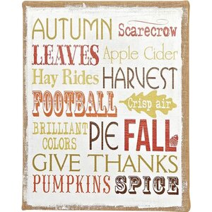 Fall Theme Sign