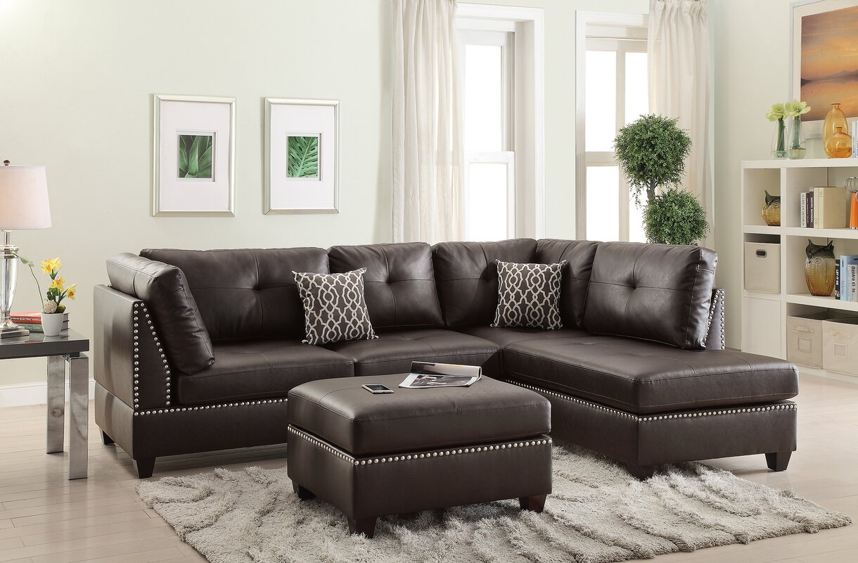 Brown Sectional Sofas You ll Love
