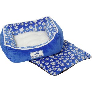 Dog Paw Pet Bed with Removable Pillows