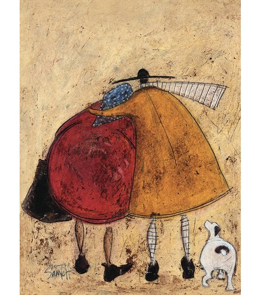 Art Group Hugs On The Way Home By Sam Toft Wall Art On